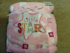 Soft Touch Little Star Blanket. Pink. Brand new. Great Baby Gift.
