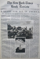 Agar Sponsor Who Owns America New Independence 1936 May 10 Ny Times Book Review