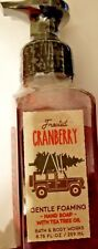 Bath and Body Works Gentle Foaming Frosted Cranberry Hand Soap 8.75 fl oz