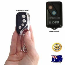 GARAGE DOOR REMOTE CONTROL compatible with 2211-L White center button Boss