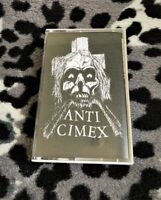 Anti-Cimex Live! Cassette Tape Reissue Mob 47 Discharge GISM Amebix Punk Crust