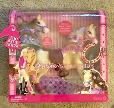 Barbie Stable Styles dress up Tawny horse with accessories 2006 NEW