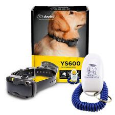 Dogtra YS600 No Bark Rechargeable Collar + Teacher's Pet Dog Training Clicker