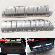 For 14-17 Range Rover Sport Rear Scuff Plate Door Sill Insert Trim Protect Cover