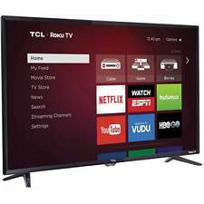 "NO TAX! FAST SHIPPING! TCL Roku 32"" 720p 60Hz Roku Smart LED HDTV 3 HDMI 32S3750"