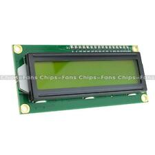 New 1602 16x2 HD44780 Character LCD Display Module LCM Yellow Backlight
