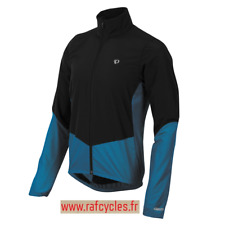 Coupe-vent PEARL IZUMI Route Homme Hiver Select Thermal Barrier Noir/Bleu S