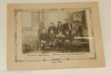 Photographie CLASSE D'ECOLE 1921-1922 à SAINT CYR - Photo F. BONNEAU