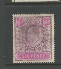 Cape of Good Hope George V  Revenue Stamp Duty 6d Pink Mauve Used