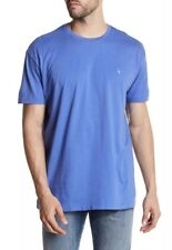 NWT Tailorbyrd Nordstrom Men's Indigo Sky Blue Crew Neck T-shirt Size L $42 CPBR