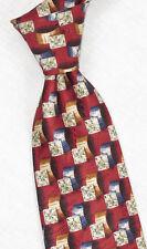 """Robert Talbott """"Best Of Class"""" Print 4 1/8"""" Wide Silk Tie *Made In USA*"""
