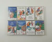 Spirit of Christmas Lot of 8 Cassettes SEE DESCRIPTION FOR TITLES