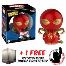 FUNKO DORBZ MARVEL SPIDER MAN IRON SPIDER EXCLUSIVE + FREE DORBZ PROTECTOR