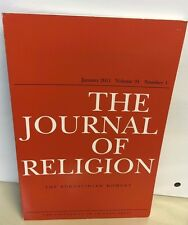 THE JOURNAL OF RELIGION THE AUGUSTINIAN MOMENT BOOK  NEW