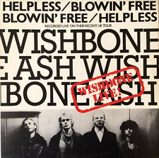 "WISHBONE ASH - Helpless/Blowin' Free (Live EP) (12"") (VG-/VG)"