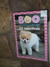 BOO THE WORLD'S CUTEST DOG 32 VALENTINES NIB VALENTINES DAY 8 DESIGNS 3+