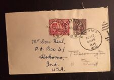 1945 Australia Cover To Usa