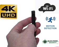 4K UHD Built Your Own Hidden Spy Covert Motion Detection Camera Kit 128 GB Audio