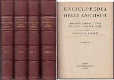 LZ- ENCICLOPEDIA DEGLI ANEDDOTI- FERNANDO PALAZZI- CESCHINA--- 1943 - C - YFS769