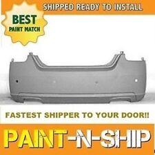 Fits; 2007 2008 Nissan Maxima w/ sensors Rear Bumper Painted to Match (NI1100245