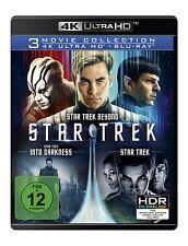 STAR TREK 3-MOVIE COLLECTIONX (3 4K UHD+ 3 BLURAY)  6 ULTRA HD BLU-RAY NEU