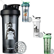 Blender Bottle el Mandalorian Pro Series 28 OZ Shaker Mixer Taza con tapa de bucle