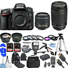 Nikon D610 DSLR Camera with 18-55mm + 70-300mm!! 2 LENS MEGA BUNDLE BRAND NEW!!