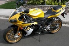 Black Yellow Complete Fairing Bodywork Injection Kit 4 2004-2006 Yamaha R1 2005