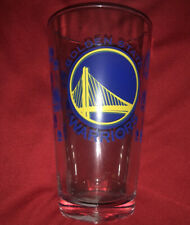 New Golden State San Francisco Warriors NBA Team 16oz Pint Drinking Glass