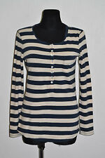 Jack Wills Cotton Crew Neck Striped Tops & Shirts for Women