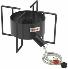 "Double Jet Cooker 22"" Indoor Outdoor Burner Camp Stove Bayou Classic Propane Gas"