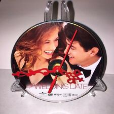 Wedding Date Authentic Movie DVD Clock Debra Messing Dermot Mulroney