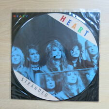 "HEART Stranded UK 12"" picture disc with card insert Capitol Records 1990 Mint"