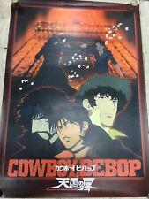 Japan Animate Poster Cowboy Bebop Original Printed In Japan