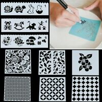 Home Decor Art Painting Airbrush Stencil DIY Craft Card Making Scrapbooking