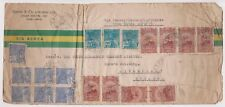 (K72-34) 1935 Brazil Booth & Co envelope to England (AI )(space filler)