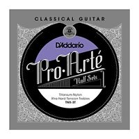D'Addario Titanium Nylon Classical Guitar Half Set, Extra Hard Tension