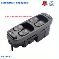 FIT VOLVO S70 V70 98-2000 LEFT DRIVERS SIDE ELECTRIC POWER WINDOW SWITCH 8638452