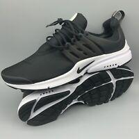 Nike Air Presto Essential Men Size 10 Black White Oreo 848187-009 Run Rare Gym