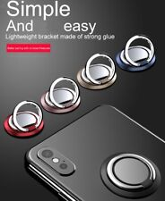 360 Universal Finger Ring Stand Car Magnetic Metal Plate Phone Holder Bracket
