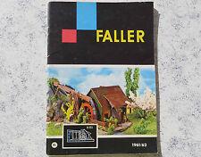 Faller  -- Modellbau Katalog 1961/62, 64-seitig  - Sprache niederländisch