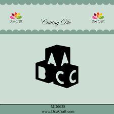 Dixi Crafts Cutting Die  ABC BRICKS DCMD0038