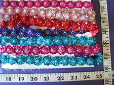 3206 Doll Dreams TRIM Sequins w Pearls Yardage CLOSE OUTS Sale Unique 5 Yds