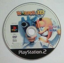 *DISK ONLY* Worms 3D Playstation 2 Two PS2 PSTwo PS