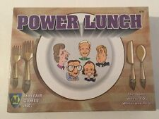 POWER LUNCH GAME VINTAGE 1994 SEALED  - 1994 Edition SHIPS FREE