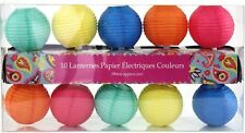 Enfants lanterne Multi Colored abat-jour Garland Pom Pom Light Home Party Decor