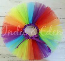 Rainbow Bebé Tutú Niñas Cumpleaños Foto Prop Pastel Smash bebé Niño Falda