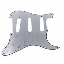 NEW PICKGUARD STRATOCASTER SSS effet ALU brossé pour guitare strat