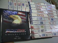 SEPA CARTELLA ALBUM x QUARTI di  DOLLARO QUARTER DOLLAR STATE USA P + D 99 09