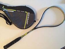 raqueta de squash DUNLOP FLEX-TECH T4 con funda